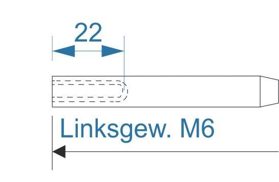 ESS VA Terminal Innengew. M6-links