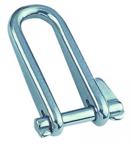 Edelstahl Schlüsselschäkel A4 / AISI 316