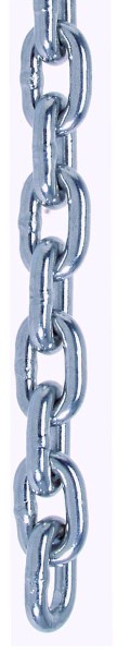 Edelstahl Rundstahlkette, Form und Maße gem. DIN 766 A4 / AISI 316