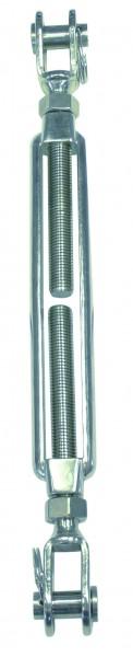 Edelstahl Wantenspanner Gabel-Gabel A4 / AISI 316