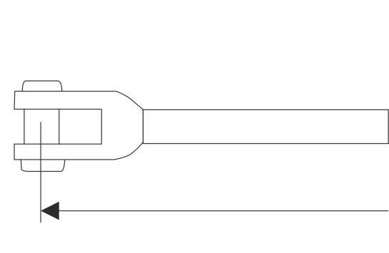 M041 Gabelterminal, gedreht A4