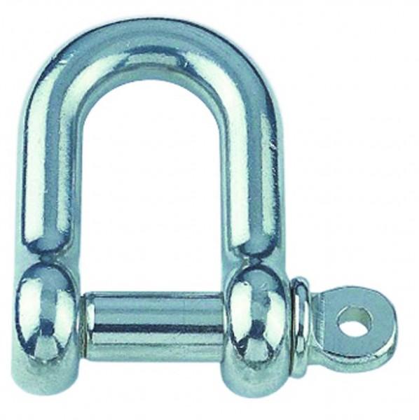 Edelstahl Rundschäkel, kurze Form A4 / AISI 316