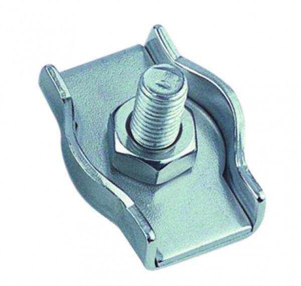 Edelstahl Simplex Drahtseilklemme A4 / AISI 316
