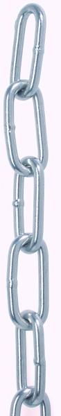 Edelstahl Rundstahlkette, Form und Maße gem. DIN 763 A4 / AISI 316