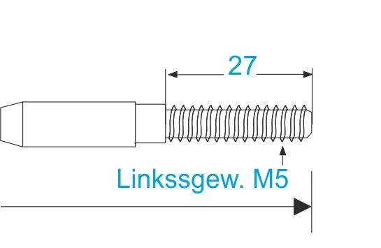ESS VA Terminal Gewinde M5-links