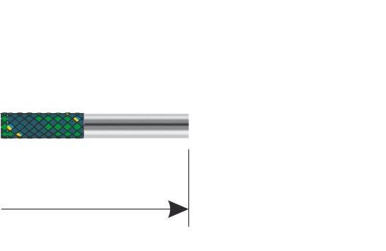 Standard Presshülse ohne Montageschlauch