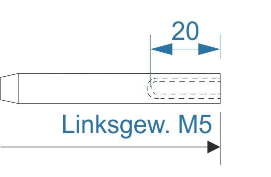 ESS VA Terminal Innengew. M5-links